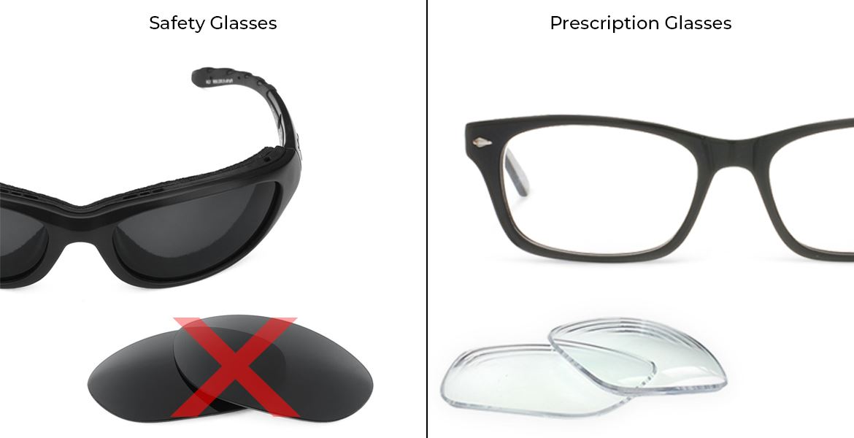 Are Prescription Glasses and Safety Glasses Same?